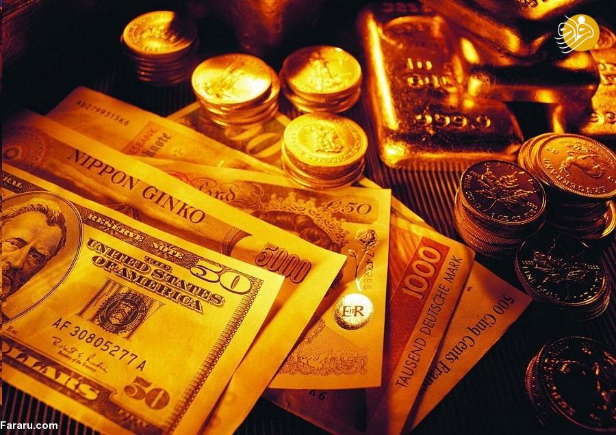 نرخ ارز دلار سکه و طلا در بازار امروز پنجشنبه ۱۳ تیر