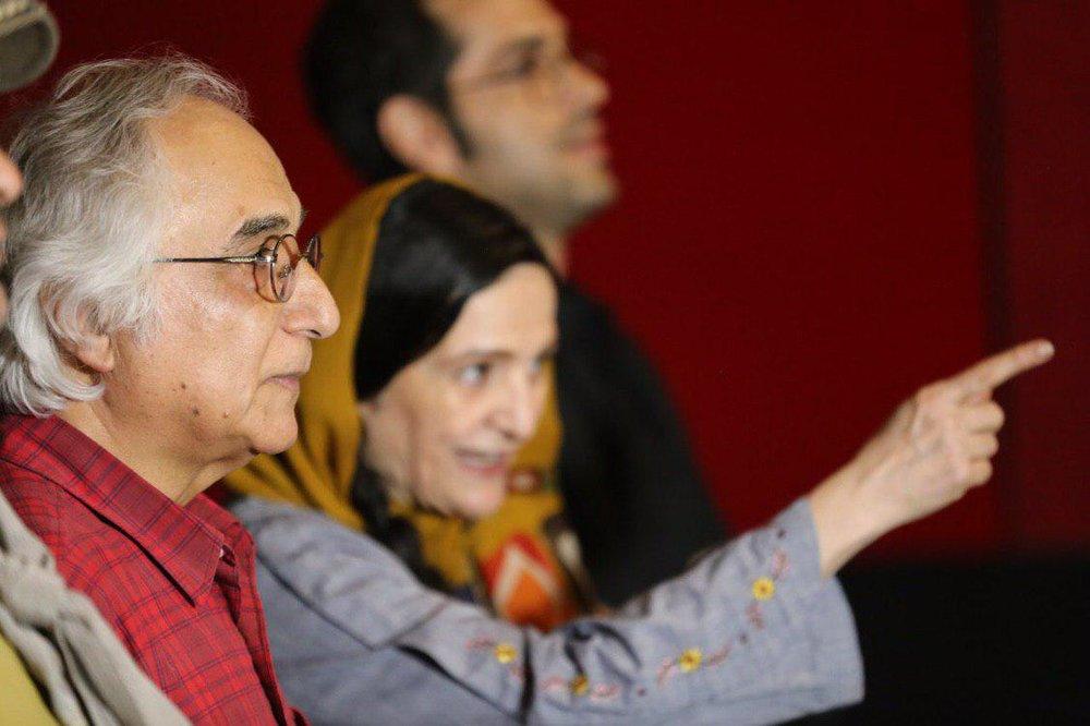 (تصاویر) گلاب آدینه و شمس لنگرودی در مراسم اکران مردمی یک فیلم