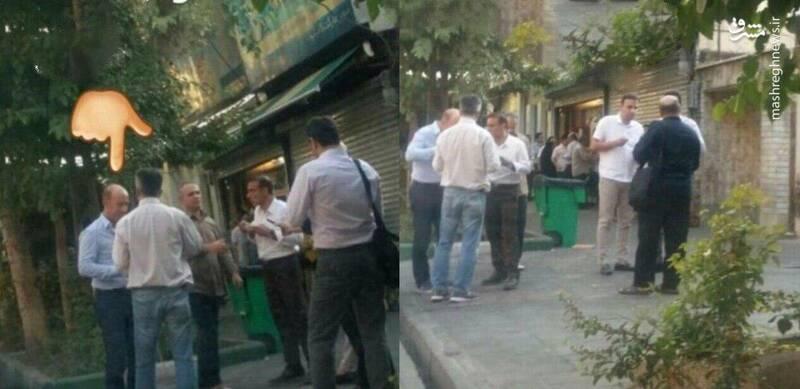 (عکس) فالودهخوری سرمربی جدید پرسپولیس در خیابانهای تهران