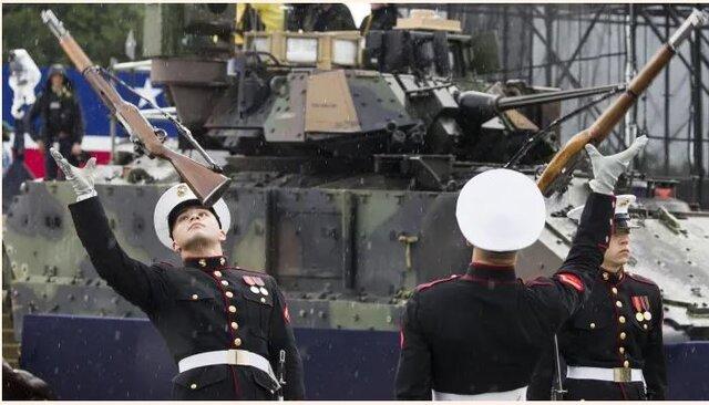 (تصاویر) ولخرجی و مراسم ترامپ صدای همه را در آورد