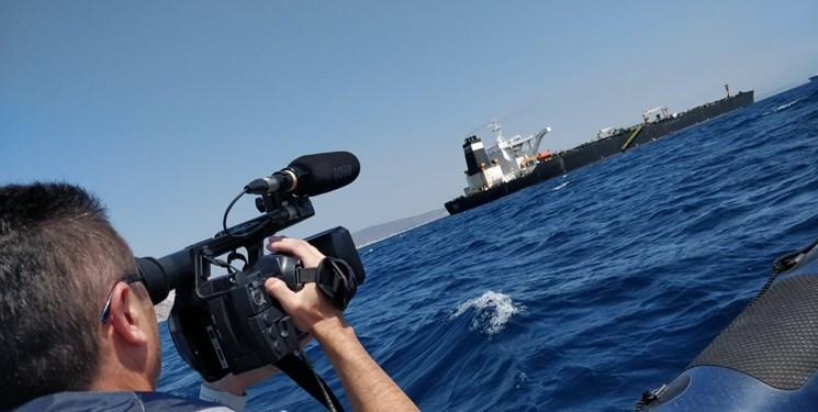خروج تفنگداران انگلیسی از نفتکش حامل نفت ایران