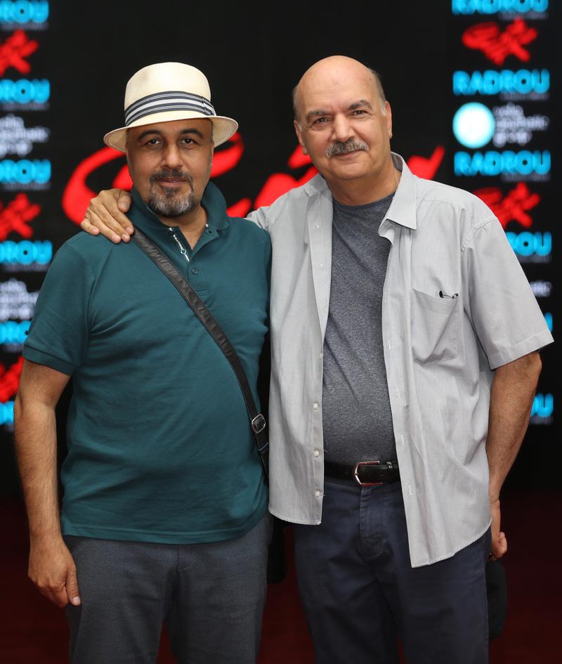 (تصاویر) پریناز ایزدیار و نوید محمدزاده در اکران «سرخپوست»