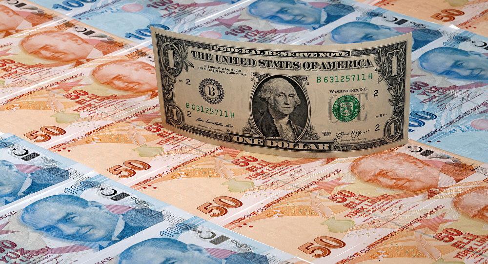 ارزش لیر ترکیه دوباره کاهش یافت