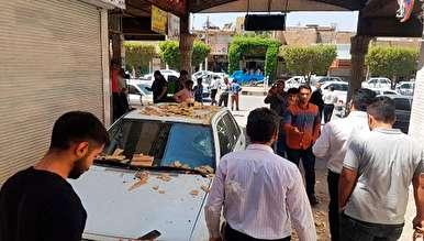 زلزله به بزرگی ۵.۷ ریشتر در مسجد سلیمان استان خوزستان +تصاویر