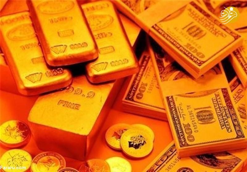 نرخ سکه طلا دلار و ارز در بازار امروز سهشنبه ۱۸ تیر