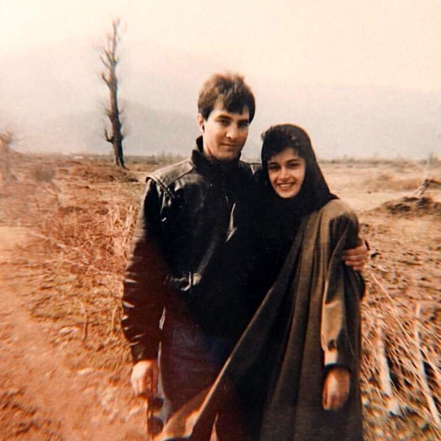 عکس زیرخاکی از ایرج نوذری در ۳۰ سال پیش