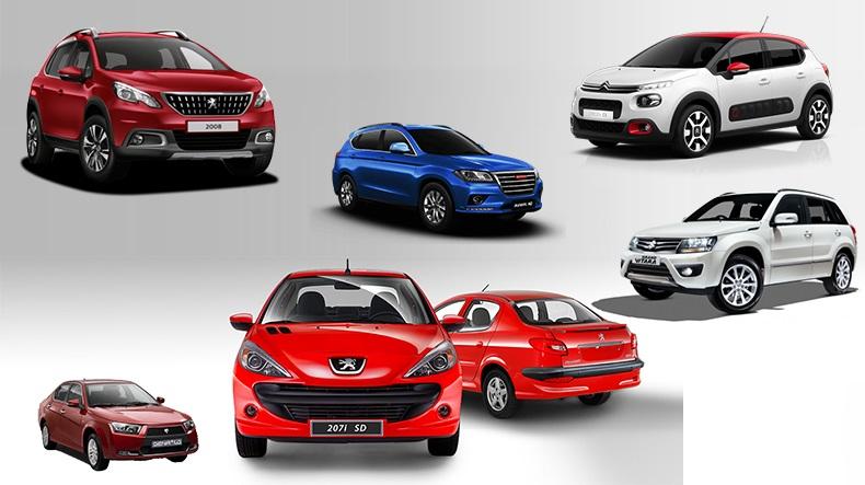 قیمت خودرو در بازار امروز ۲ تیر ۹۸؛ ۲۰۶ صندوقدار ۱۰۵.۰۰۰.۰۰۰ تومان!