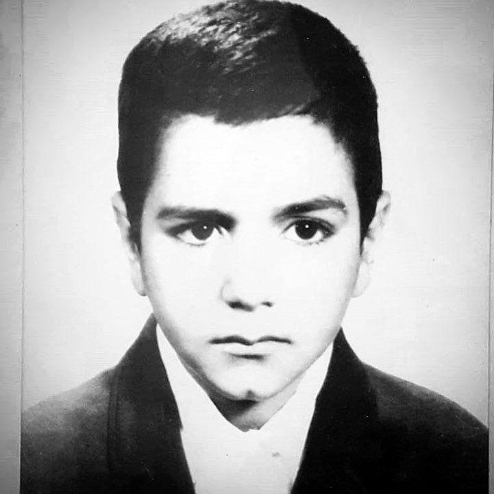 (عکس) تصویری جالب از دوران کودکی پرویز پرستویی