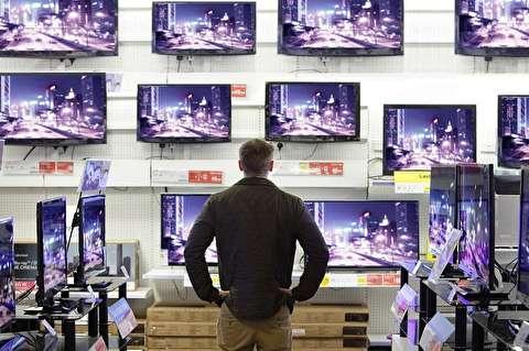 قیمت انواع تلویزیون در بازار لوازم خانگی