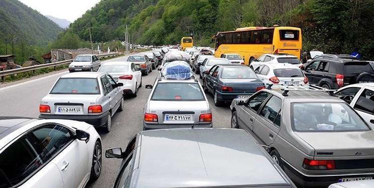 ترافیک فوق سنگین به سمت شمال کشور