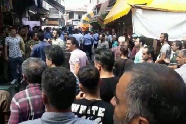 سکوت شهرداری رشت درباره درگیری با دستفروشان