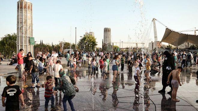 هوای کرج در سال ٢٠٥٠ شبیه قم میشود، تهران مثل سنبرناردینو
