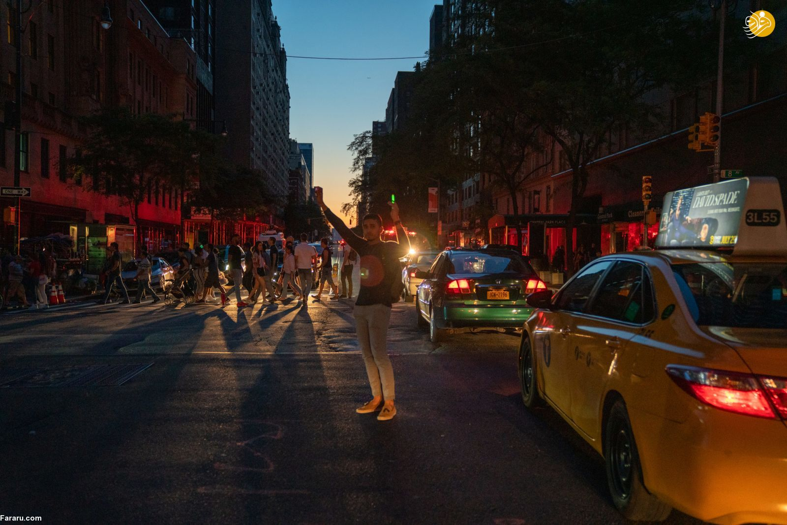 (تصاویر) خاموشی گسترده در منهتن