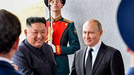 ۱۰ لحظه خنده دار رهبر کره شمالی در سفرش به روسیه