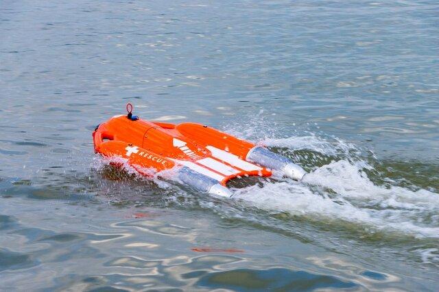 (تصاویر) قایق نجاتی که از راه دور هدایت میشود