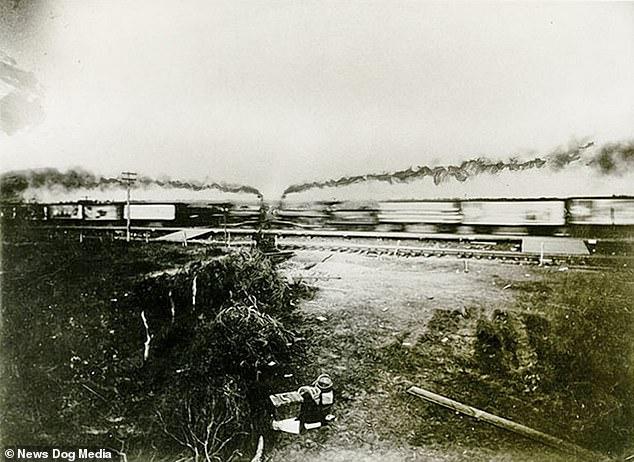 (ویدئو) تصاویری جالب از برخورد دو قطار در حدود ۱۰۰ سال پیش
