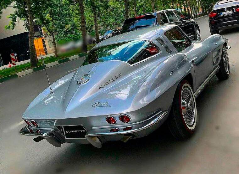 (تصویر) شاهکار خودروسازی آمریکا در تهران