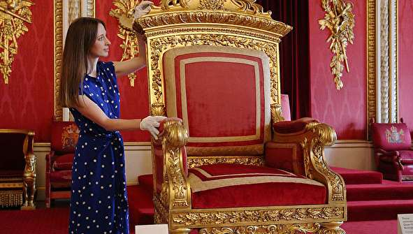 (تصاویر) نمایش وسایل ملکه ویکتوریا