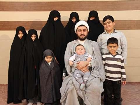 محمدمسلم وافی یزدی؛ طلبه ۳۷ سالهای که ۱۲ فرزند و ۲ نوه دارد