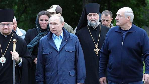 (تصاویر) پوتین و لوکاشنکو در جزیره والام