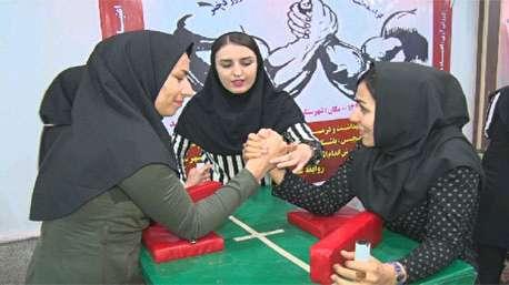 مسابقه مچ اندازی زنان ایرانی