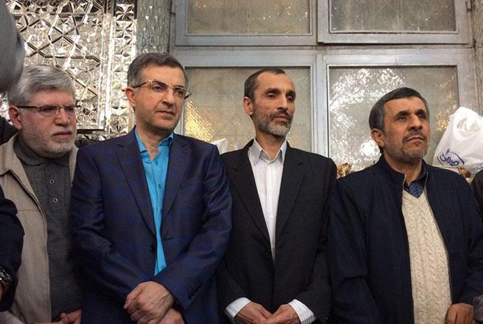 سکته یار حاشیهساز احمدینژاد
