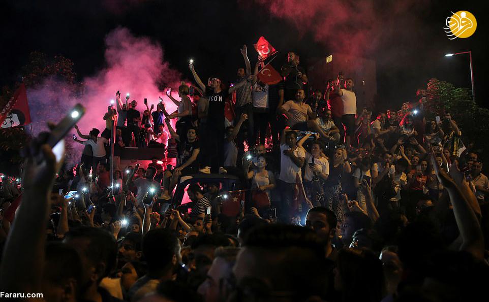 (تصاویر) جشن پیروزی اکرم امام اوغلو در انتخابات شهرداری استانبول