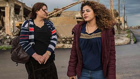 (تصاویر) بازگشت برده جنسی داعش به زادگاهش