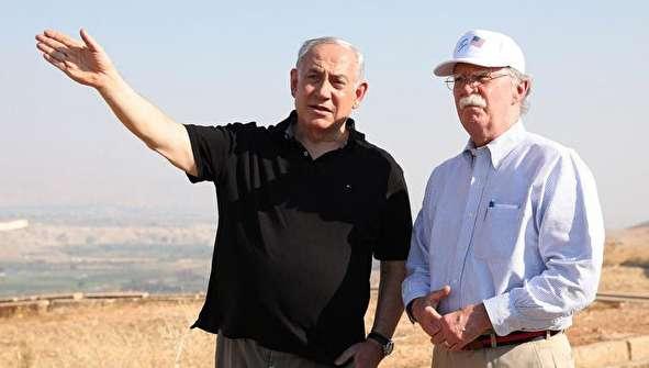 (تصاویر) نتانیاهو، بولتون را به دره اردن برد