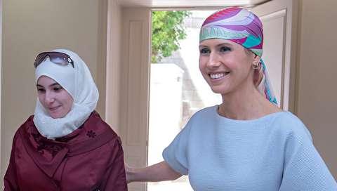 تصاویر جدید از اسماء اسد یک سال پس از ابتلا به سرطان سینه