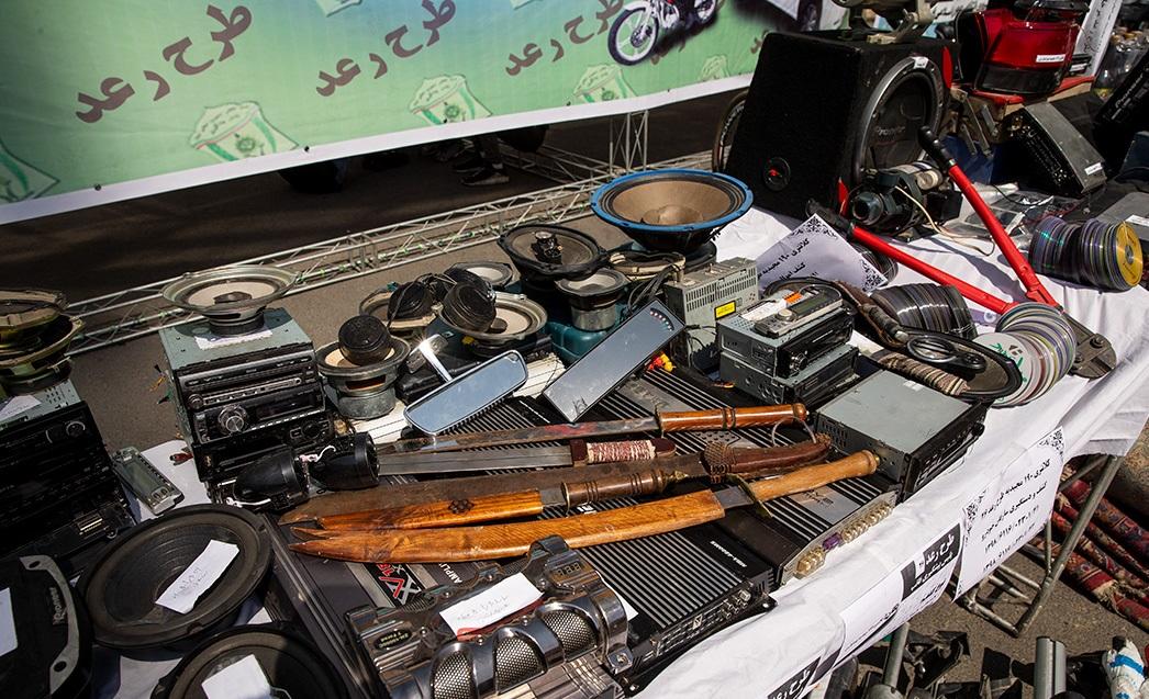 (تصاویر) از کشف اسلحه شاهکُش تا برملا شدن دسیسه یک زن در رعد ۲۶