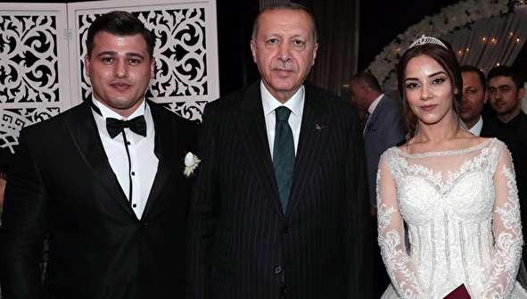 (تصاویر) اردوغان در مراسم عروسی رضا کایالپ کشتیگیر نامدار ترکیه
