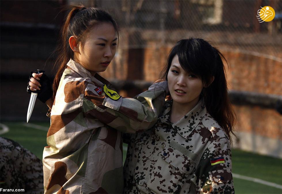 بادیگاردهای زن این روزها در چین مشتریان زیادی دارند
