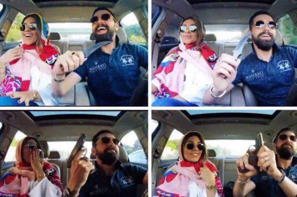شایعاتی عجیب درباره اسلحه محسن افشانی و همسرش