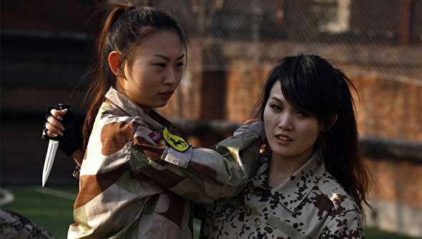 (تصاویر) زنان بادیگارد فول آپشن چینی