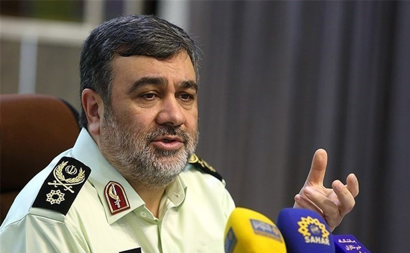 واکنش فرمانده ناجا به حادثه پارک پلیس
