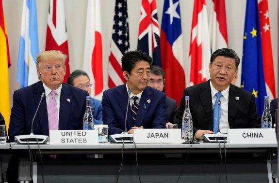 سخنرانی ترامپ و آبه در آغاز نشست گروه ۲۰