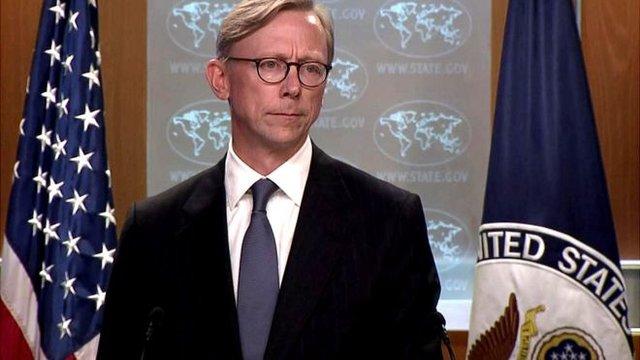 برایان هوک: میخواهیم ۵۰ میلیارد دلار درآمد ایران را قطع کنیم