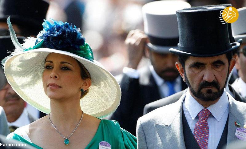 فرار همسر حاکم دوبی با چمدانی پر از پول