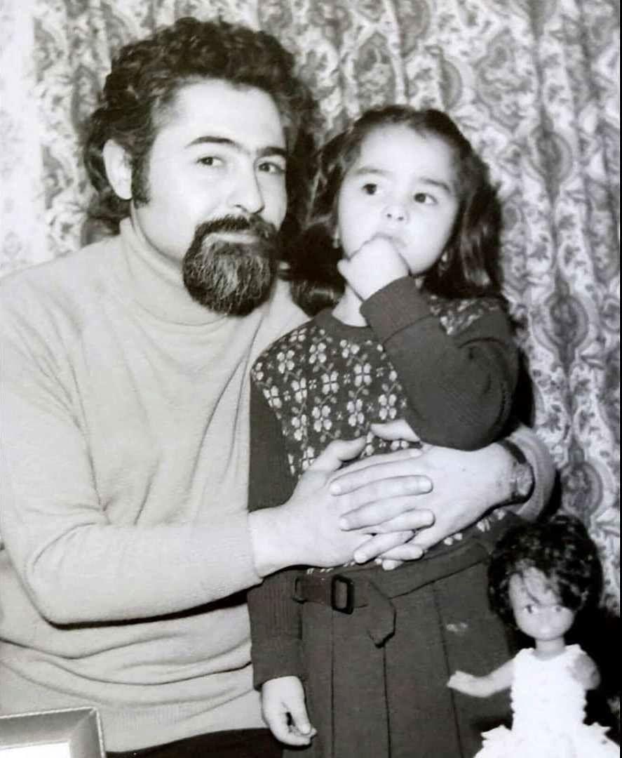 تصویری زیرخاکی از کودکی ماهایا پطروسیان