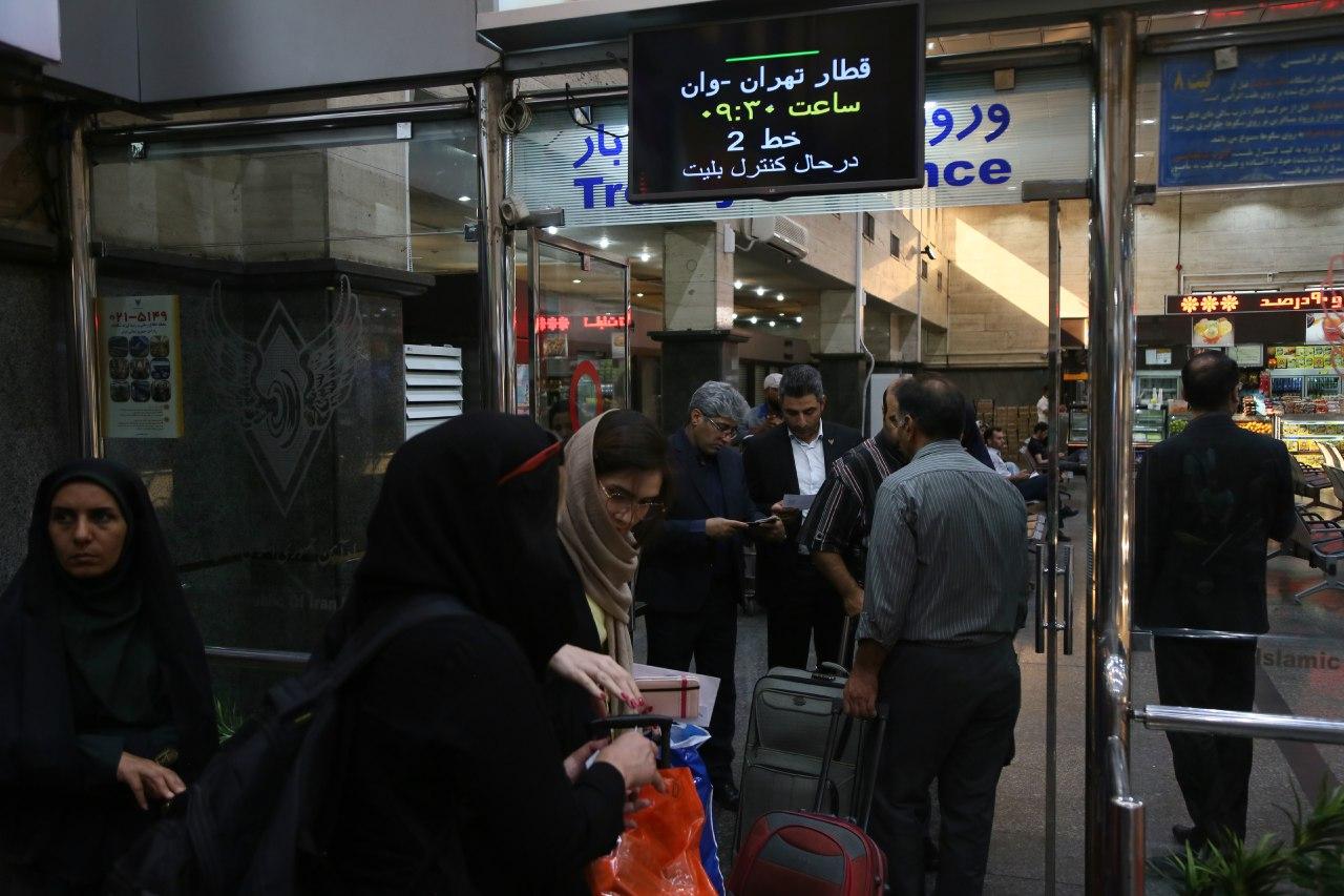 همهچیز درباره قیمت بلیط قطار تهران وان و تهران آنکارا
