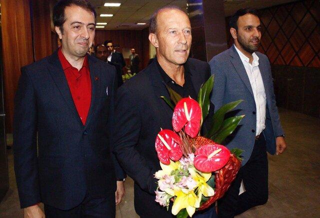 (عکس) کالدرون، گزینه سرمربیگری پرسپولیس به تهران آمد