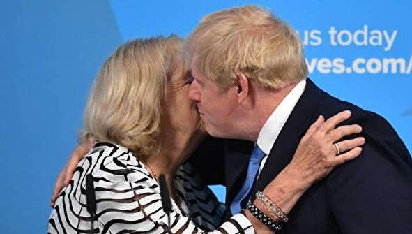 (تصاویر) لحظه انتخاب بوریس جانسون به عنوان نخست وزیر انگلیس