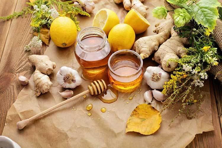زوج درمانی طبیعی و قدرتمند سیر و عسل
