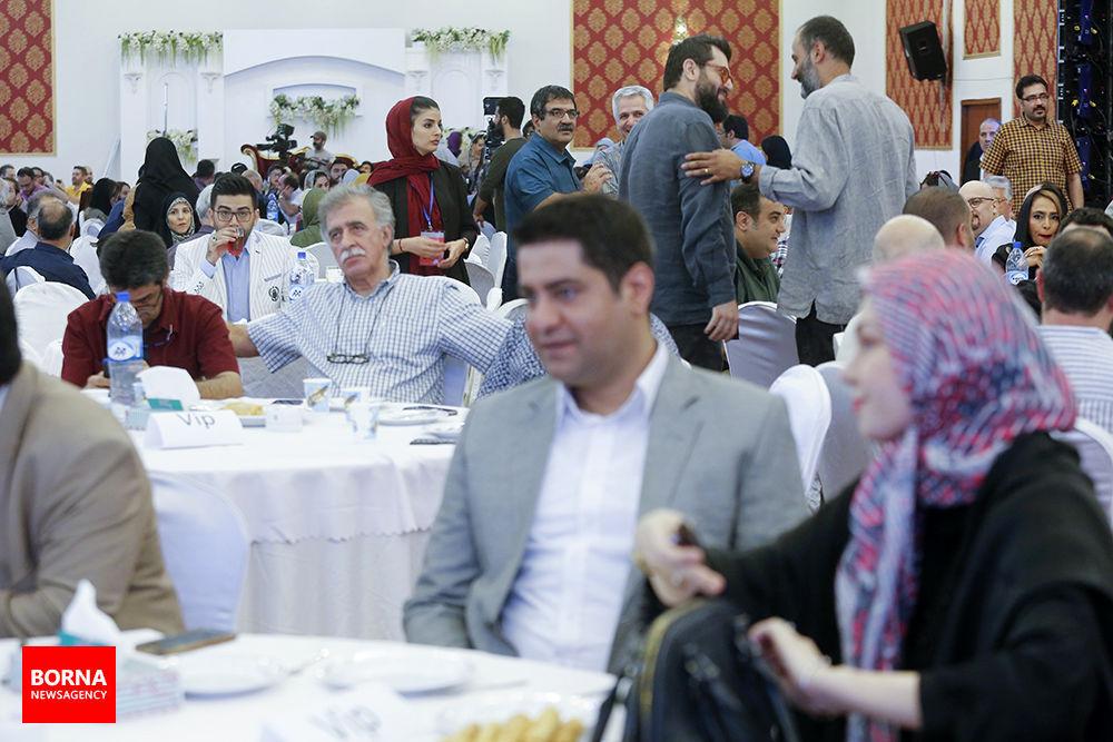 تصویری خاص از فرزاد حسنی و آزاده نامداری در یک جشن