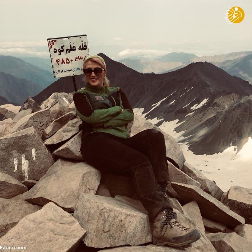 پیدا شدن پیکر بیجان فرناز دولتخواه در دماوند