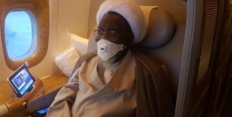 شیخ زکزاکی نیجریه را به مقصد هندوستان ترک کرد