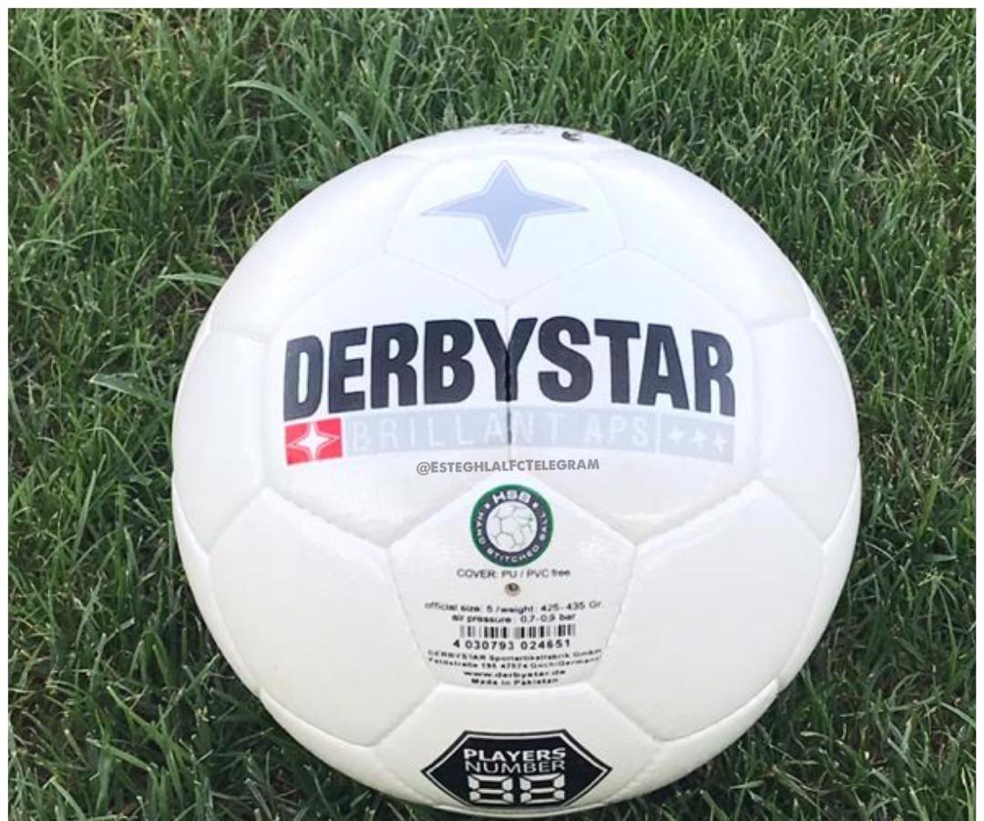 (عکس) توپ جدید لیگ برتر به تمرین استقلال رسید