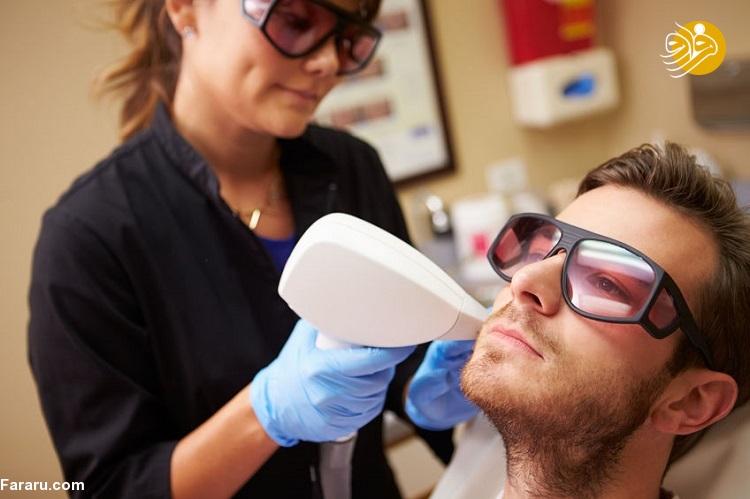 عوارض لیزر موهای زئد چیست؟