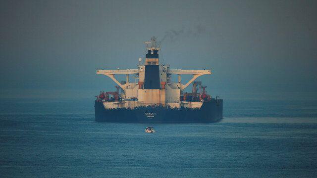نفتکش ایرانی «گریس ۱» آزاد شد